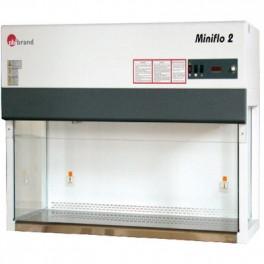 Ламинарные шкаф MINIFLO DUE с горизонтальным воздушным потоком, класс 5 ISO, тип 120